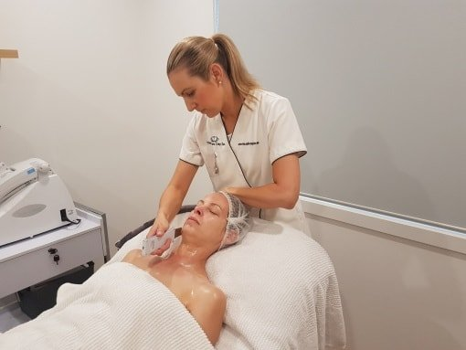 Omnilux Graph of Results from Treatment